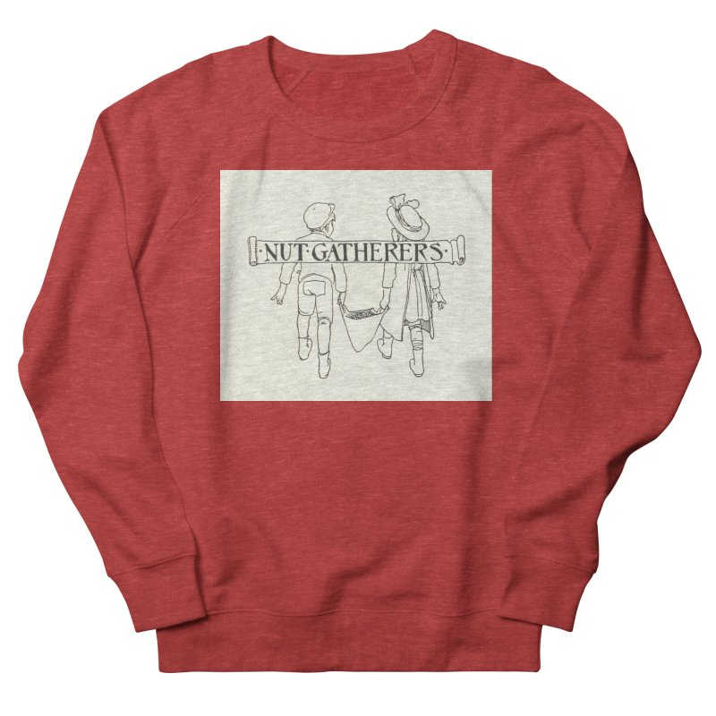 Nut Gatherers Men's French Terry Sweatshirt by RNF's Artist Shop