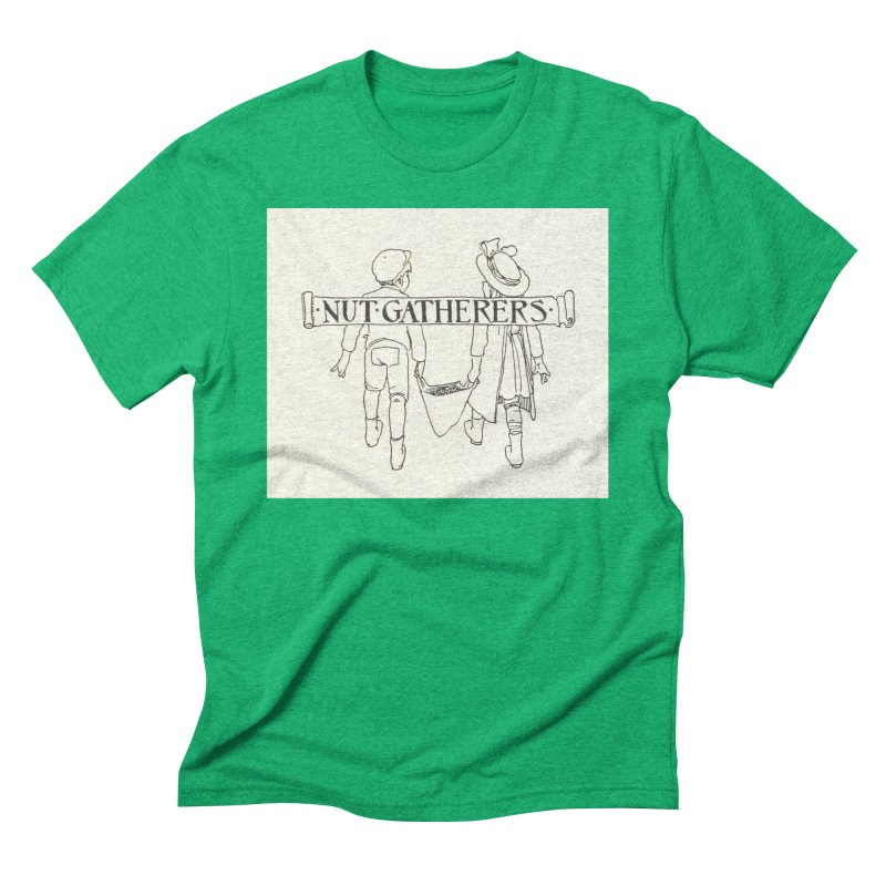 Nut Gatherers Men's Triblend T-Shirt by RNF's Artist Shop