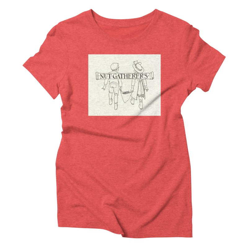 Nut Gatherers Women's Triblend T-Shirt by RNF's Artist Shop