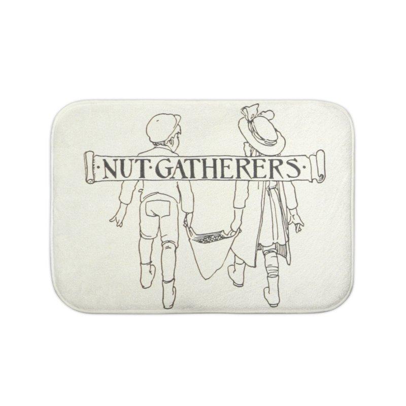 Nut Gatherers Home Bath Mat by RNF's Artist Shop