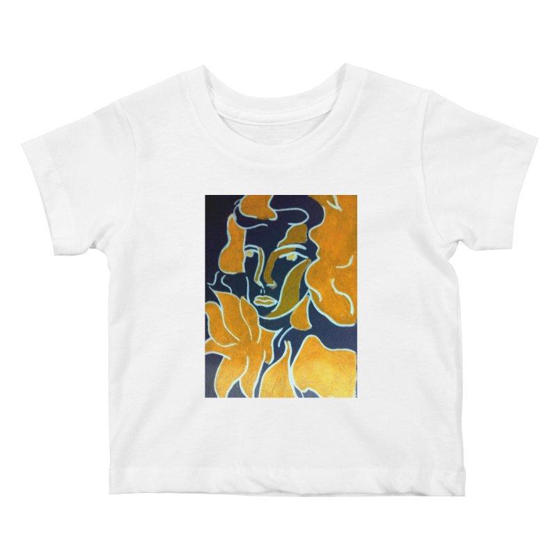 In Orange Kids Baby T-Shirt by RNF's Artist Shop