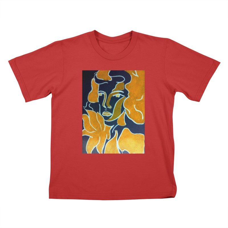 In Orange Kids T-Shirt by RNF's Artist Shop