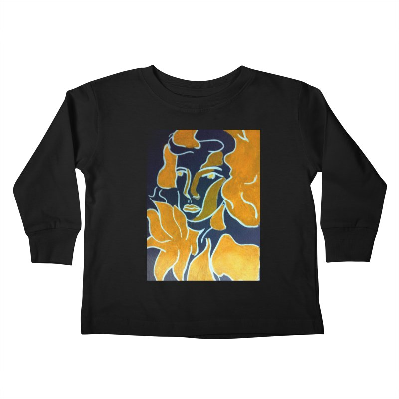 In Orange Kids Toddler Longsleeve T-Shirt by RNF's Artist Shop