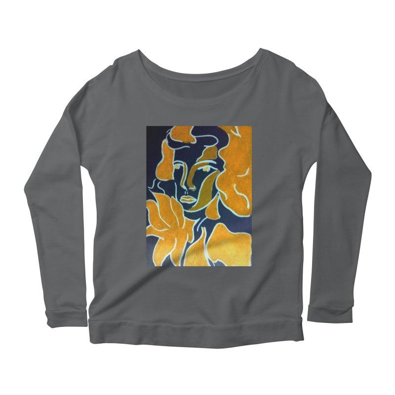 In Orange Women's Scoop Neck Longsleeve T-Shirt by RNF's Artist Shop
