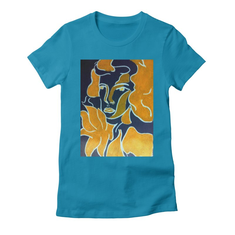 In Orange Women's Fitted T-Shirt by RNF's Artist Shop