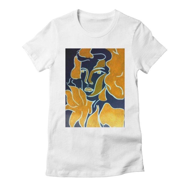 In Orange Women's Fitted T-Shirt by RNF's Artist Shop