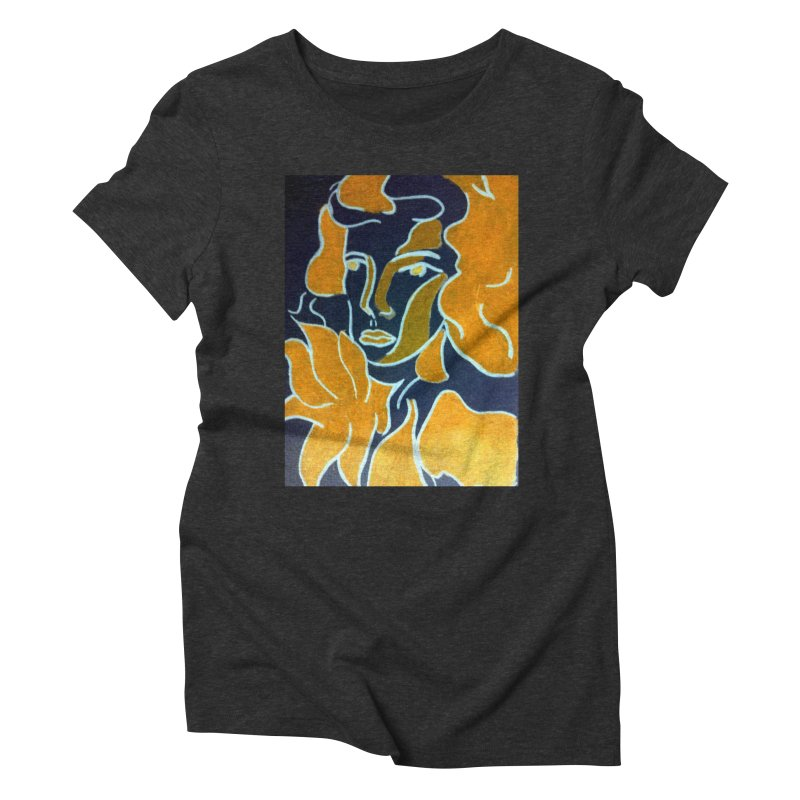 In Orange Women's Triblend T-Shirt by RNF's Artist Shop