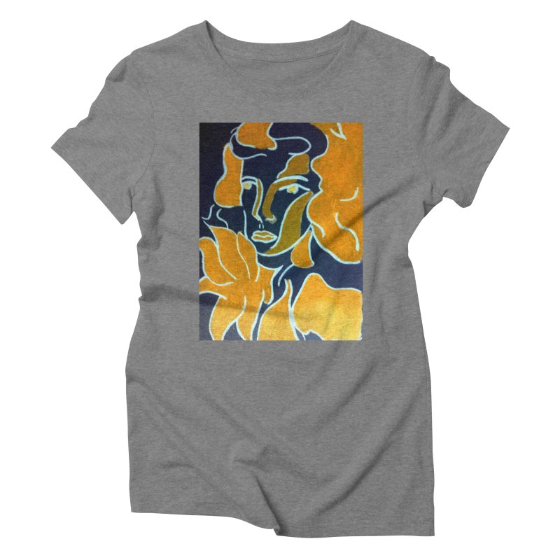 In Orange Women's Triblend T-Shirt by RNF's Artist Shop