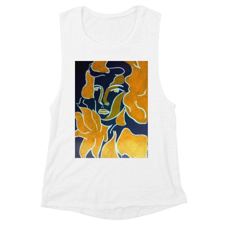 In Orange Women's Muscle Tank by RNF's Artist Shop