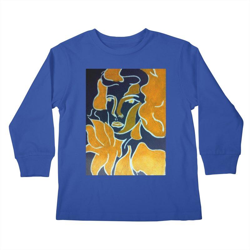 In Orange Kids Longsleeve T-Shirt by RNF's Artist Shop