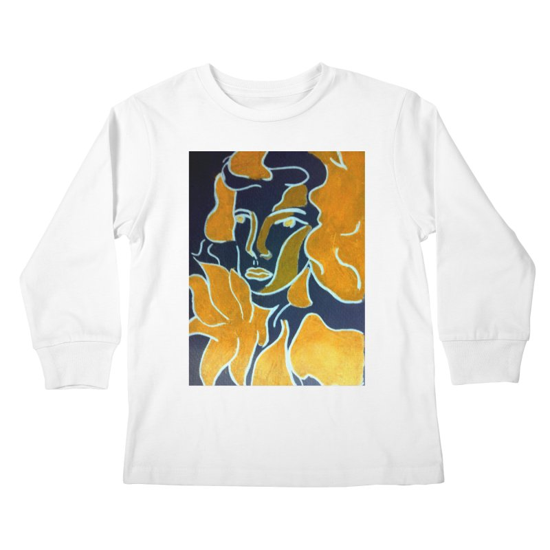 In Orange Kids Longsleeve T-Shirt by RNF's Artist Shop