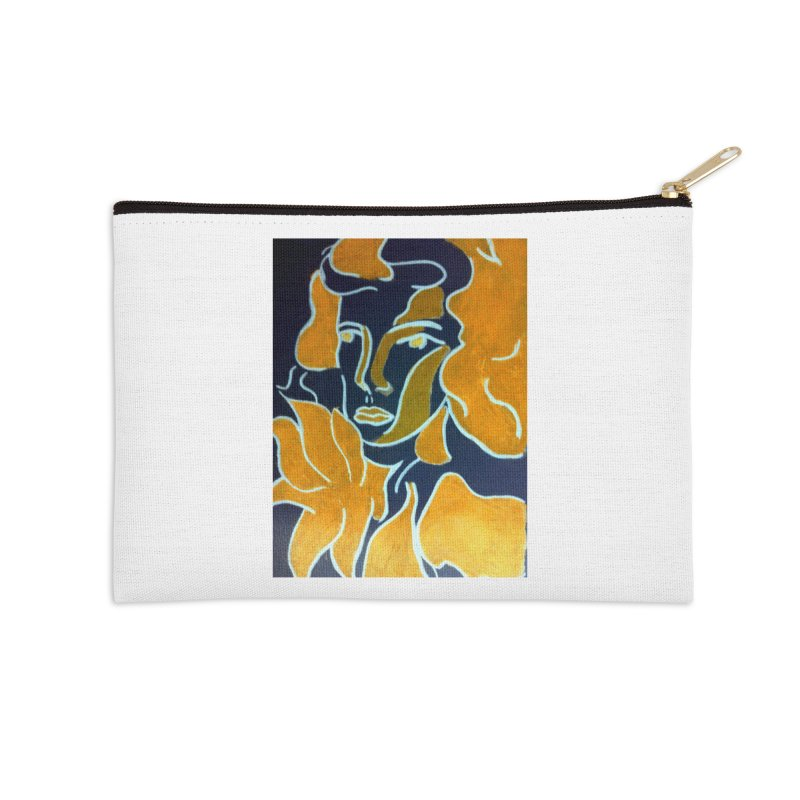 In Orange Accessories Zip Pouch by RNF's Artist Shop