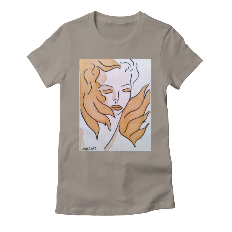 Mestiza in Women's Fitted T-Shirt Warm Grey by RNF's Artist Shop
