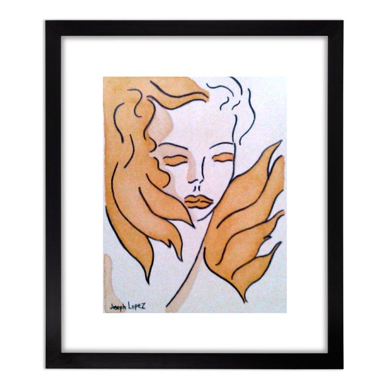 Mestiza Home Framed Fine Art Print by RNF's Artist Shop