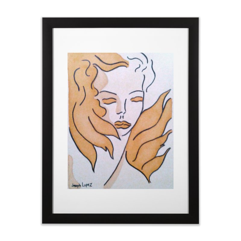 Mestiza Home Framed Fine Art Print by RNF's Artist Shop