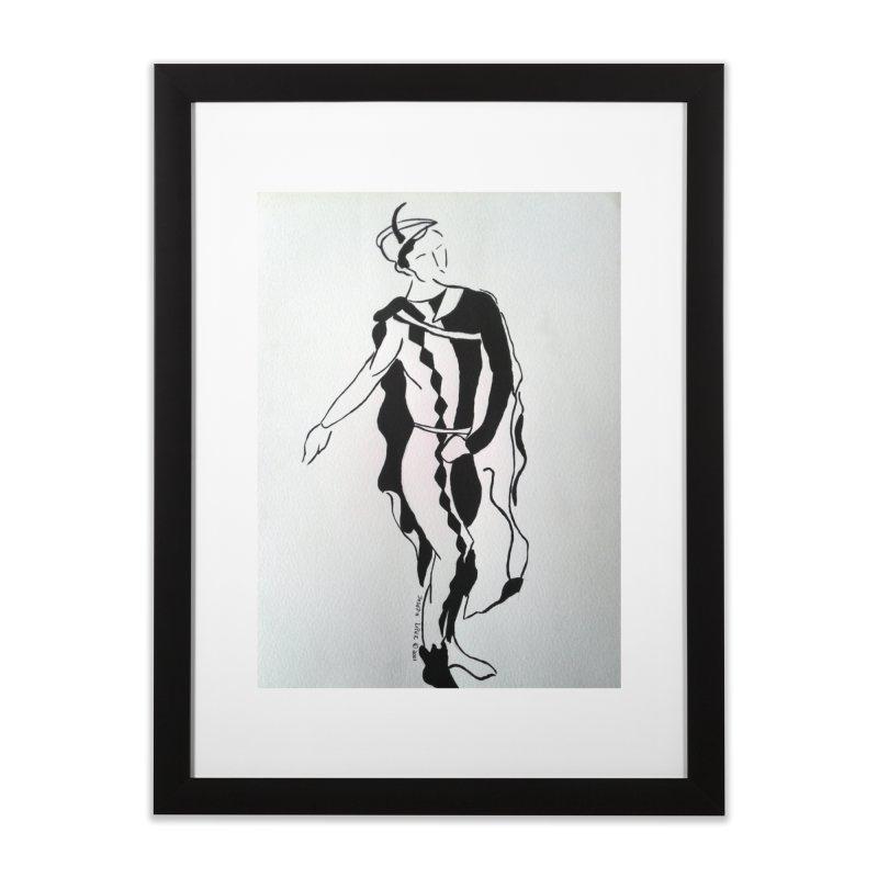 Black and White Home Framed Fine Art Print by RNF's Artist Shop