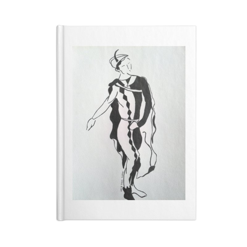 Black and White Accessories Blank Journal Notebook by RNF's Artist Shop