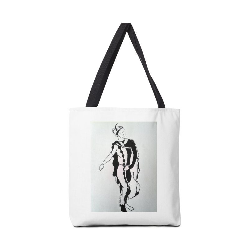 Black and White Accessories Tote Bag Bag by RNF's Artist Shop