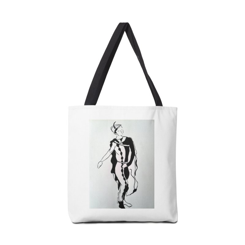 Black and White Accessories Bag by RNF's Artist Shop