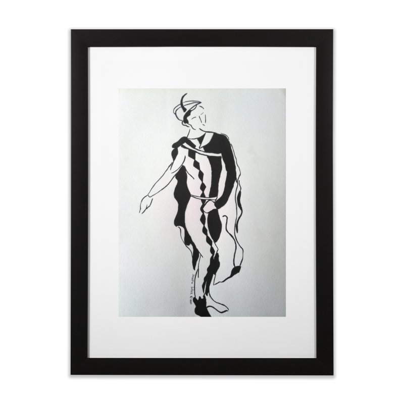 Black and White Home Framed Fine Art Print by RNF's Artist Shop