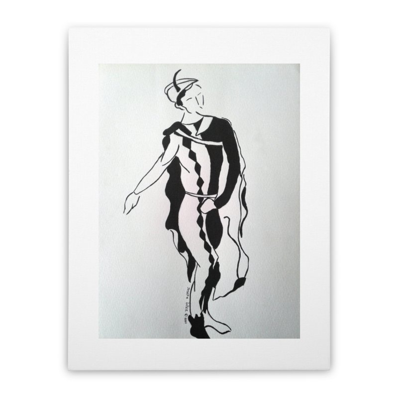 Black and White Home Stretched Canvas by RNF's Artist Shop