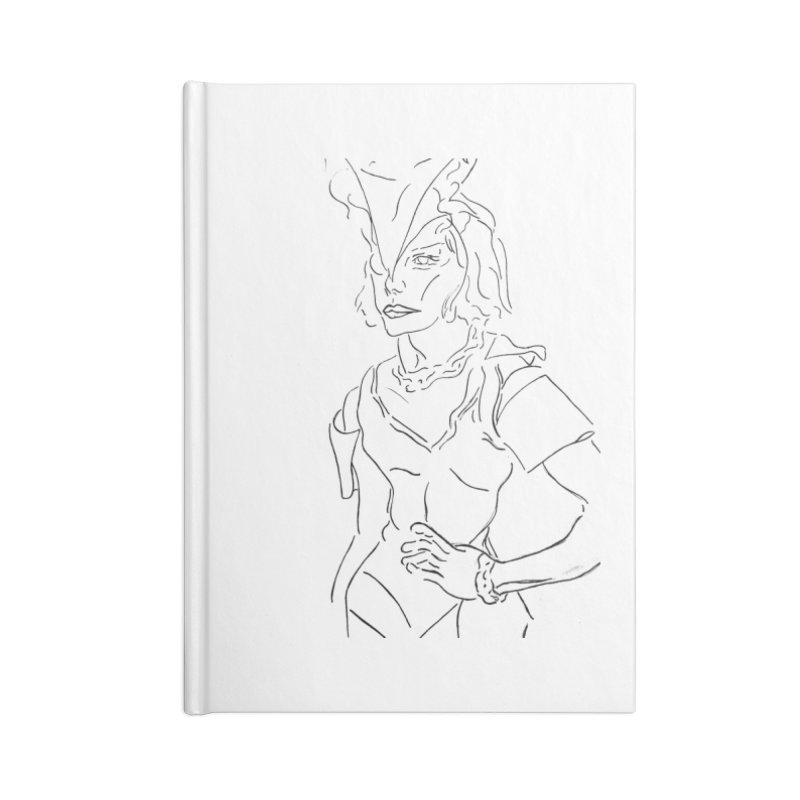 Fashion Accessories Notebook by RNF's Artist Shop