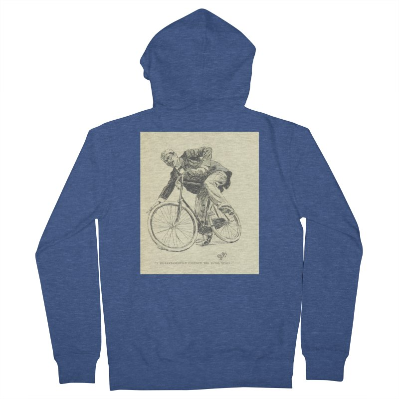 Total Upset Men's French Terry Zip-Up Hoody by RNF's Artist Shop