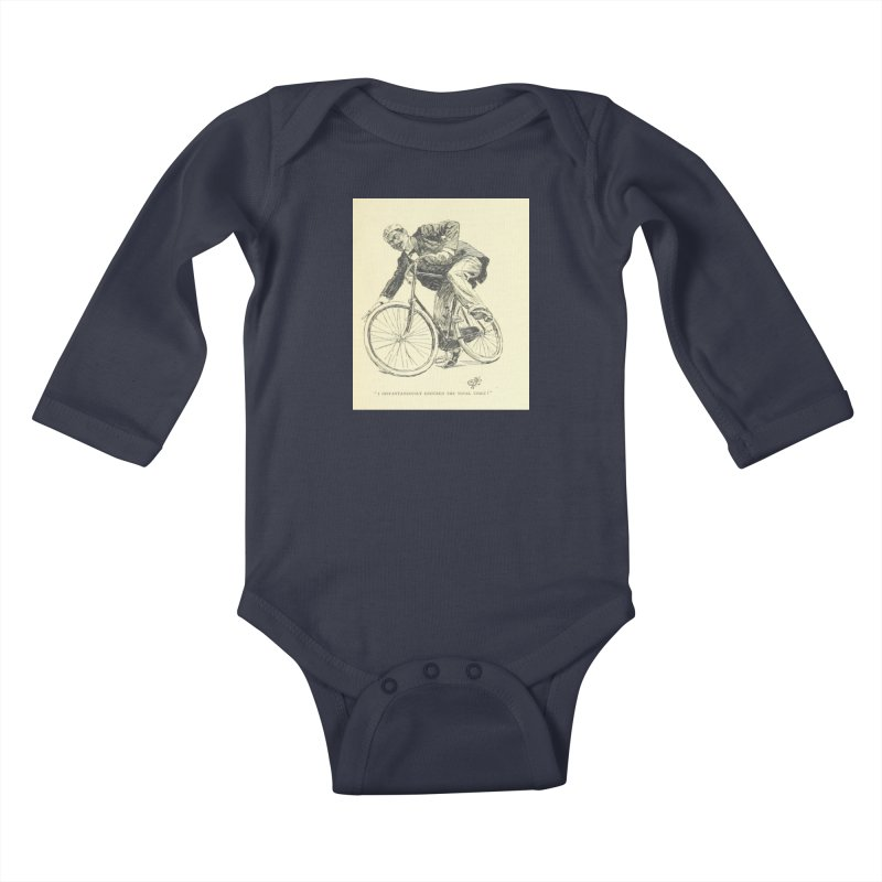 Total Upset Kids Baby Longsleeve Bodysuit by RNF's Artist Shop