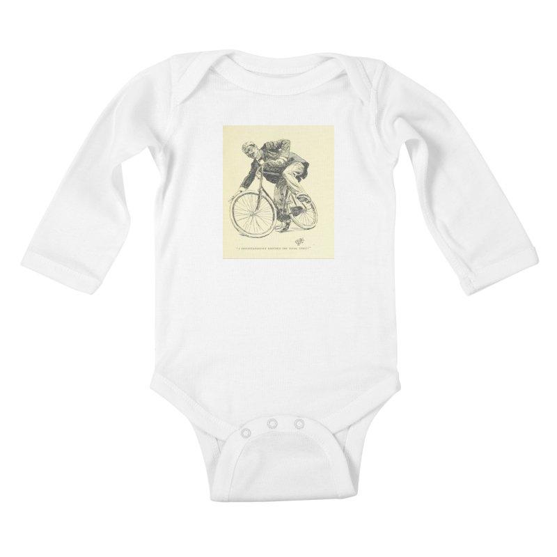 Total Upset Kids Baby Longsleeve Bodysuit by RNF's Artist Shop