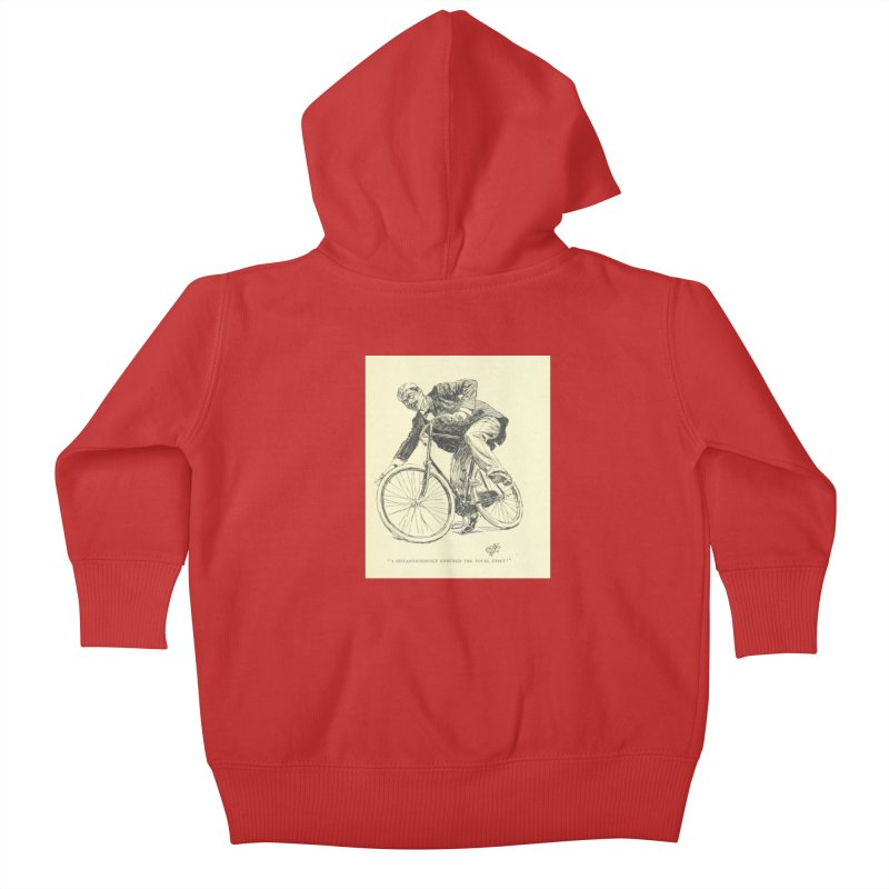 Total Upset Kids Baby Zip-Up Hoody by RNF's Artist Shop