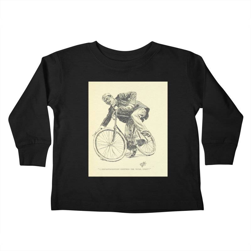 Total Upset Kids Toddler Longsleeve T-Shirt by RNF's Artist Shop
