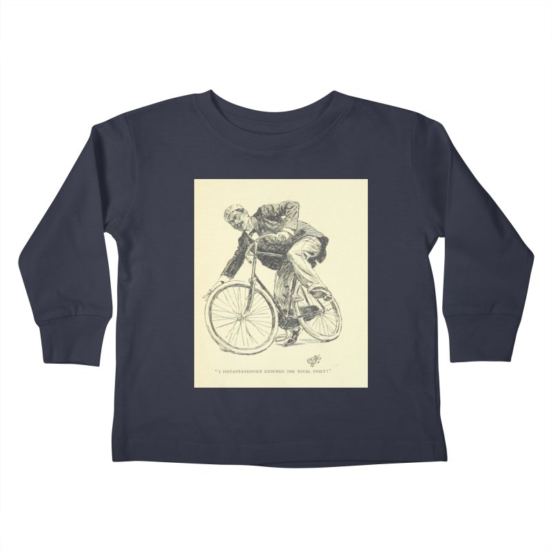 Total Upset Kids Toddler Longsleeve T-Shirt by RNF's Artist Shop