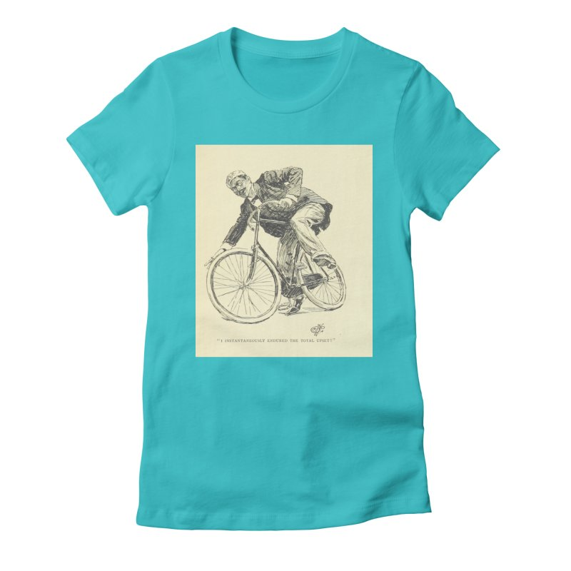 Total Upset Women's Fitted T-Shirt by RNF's Artist Shop