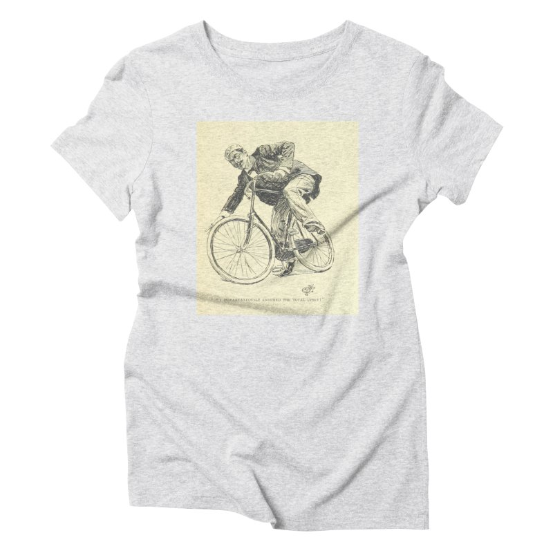 Total Upset Women's Triblend T-Shirt by RNF's Artist Shop