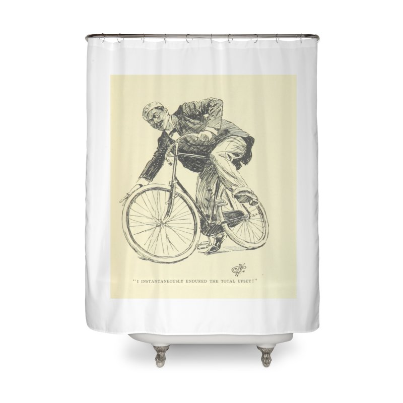 Total Upset Home Shower Curtain by RNF's Artist Shop