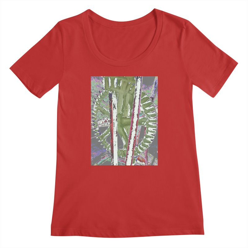 Widget Women's Scoop Neck by RNF's Artist Shop