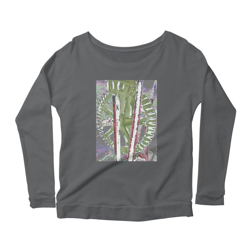 Widget Women's Scoop Neck Longsleeve T-Shirt by RNF's Artist Shop