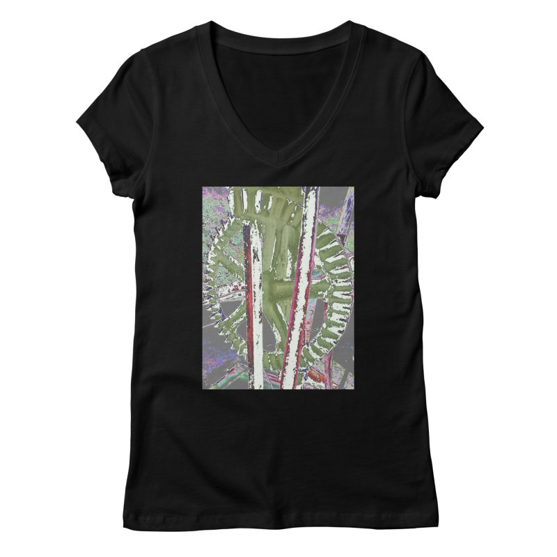 Widget Women's V-Neck by RNF's Artist Shop