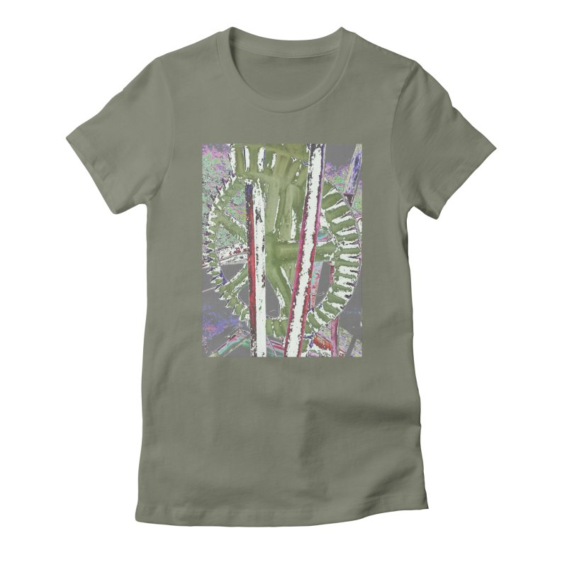 Widget Women's Fitted T-Shirt by RNF's Artist Shop