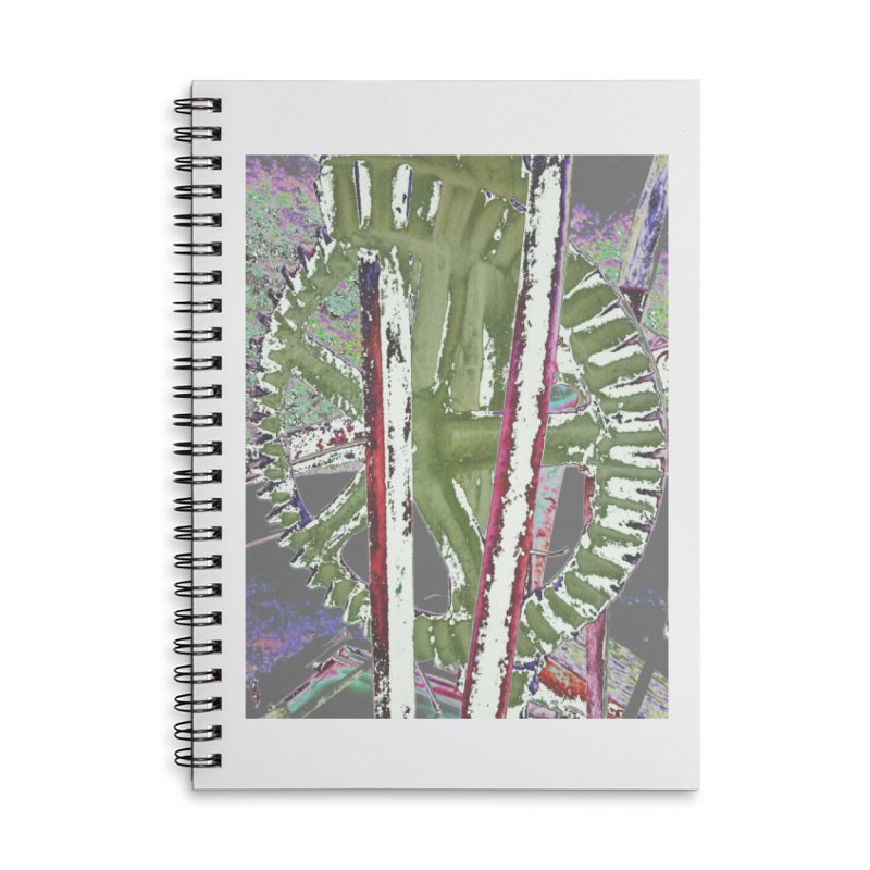 Widget Accessories Lined Spiral Notebook by RNF's Artist Shop