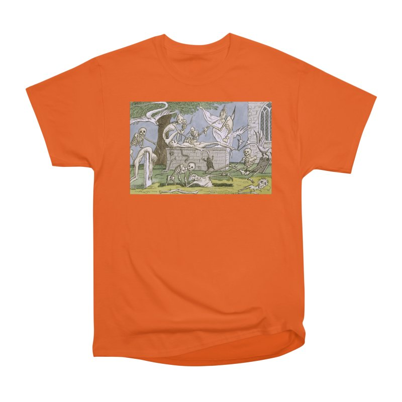 The Graveyard Dance Men's Heavyweight T-Shirt by RNF's Artist Shop