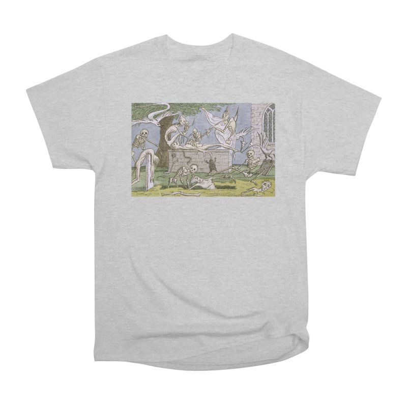 The Graveyard Dance Men's Heavyweight T-Shirt by RNF's Artist Shop