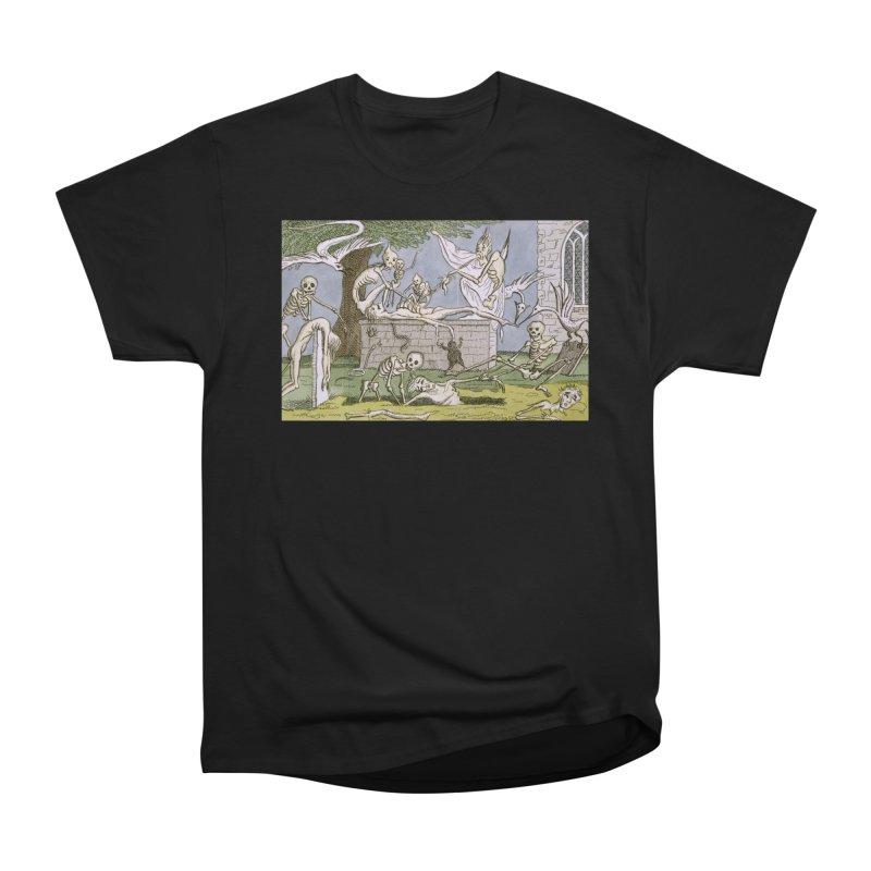 The Graveyard Dance Women's Heavyweight Unisex T-Shirt by RNF's Artist Shop