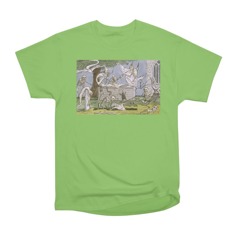 The Graveyard Dance Women's Heavyweight Unisex T-Shirt by RNF's Artist Shop