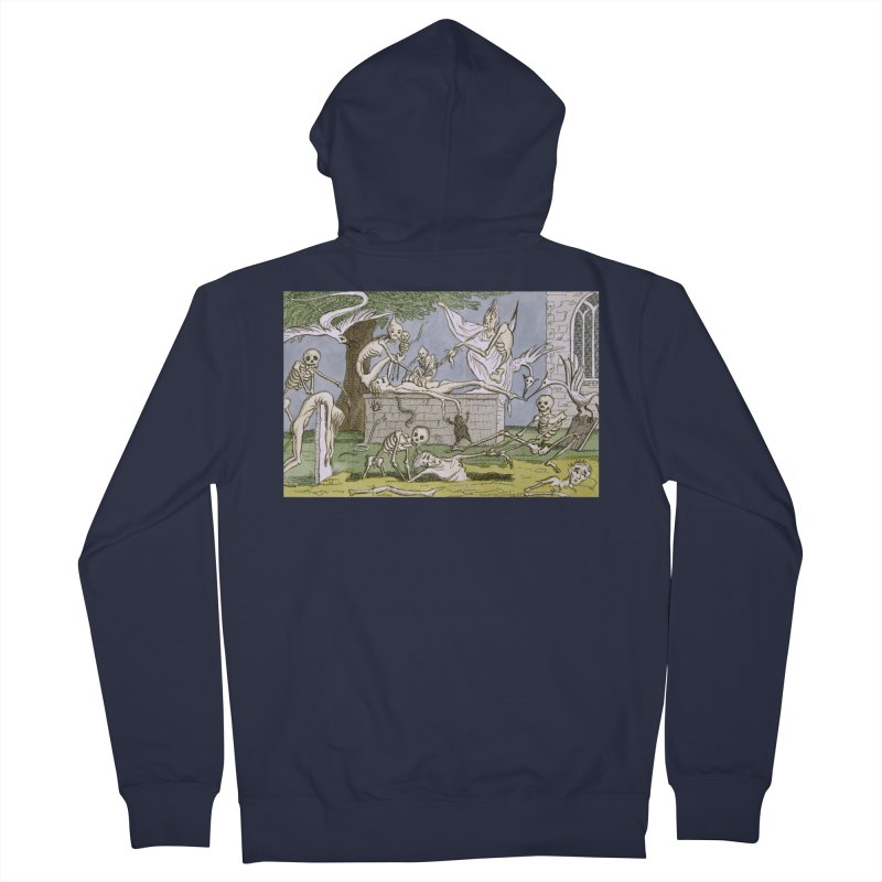 The Graveyard Dance Men's French Terry Zip-Up Hoody by RNF's Artist Shop