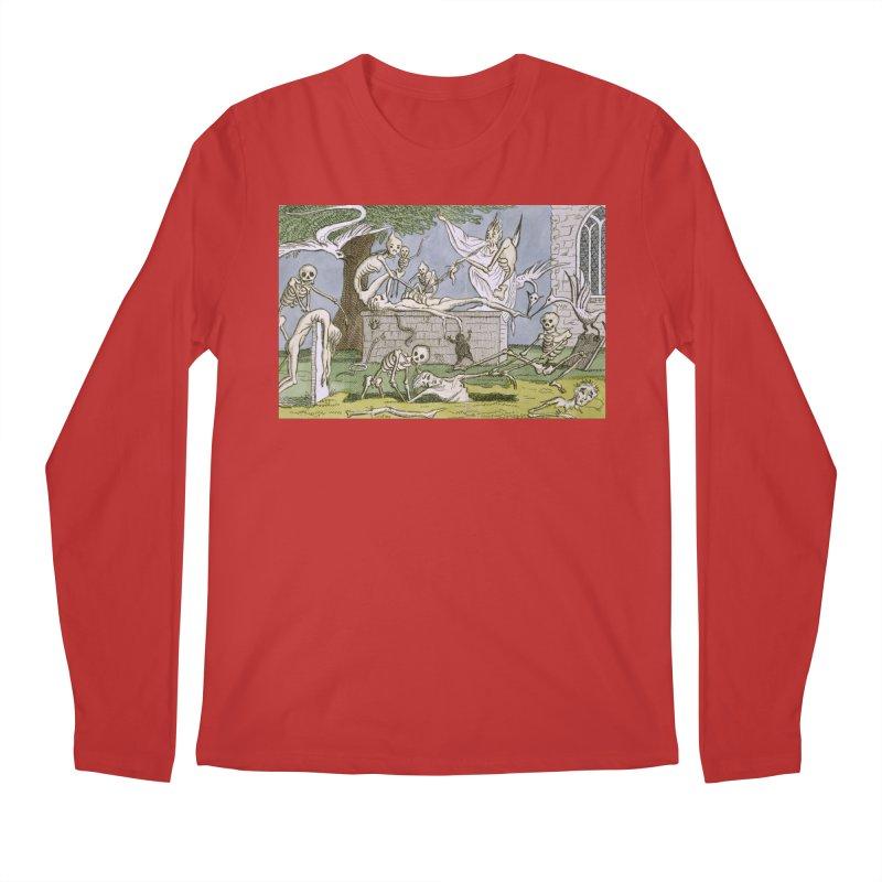 The Graveyard Dance Men's Regular Longsleeve T-Shirt by RNF's Artist Shop