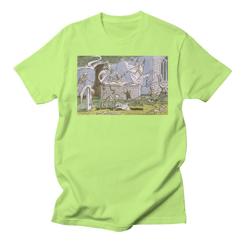 The Graveyard Dance Men's Regular T-Shirt by RNF's Artist Shop