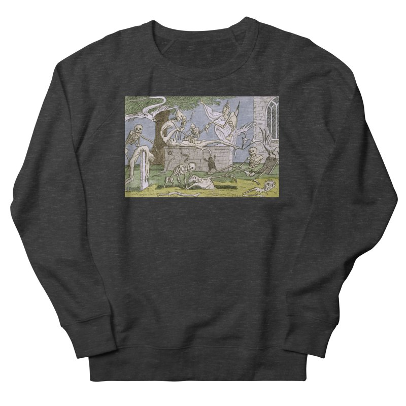 The Graveyard Dance Women's French Terry Sweatshirt by RNF's Artist Shop