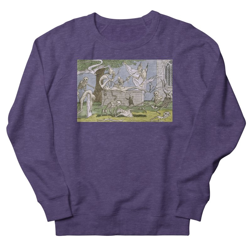 The Graveyard Dance Women's French Terry Sweatshirt by RNF's Artist Shop