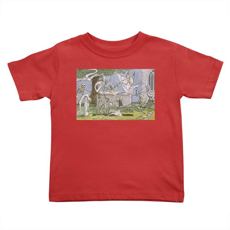 The Graveyard Dance Kids Toddler T-Shirt by RNF's Artist Shop